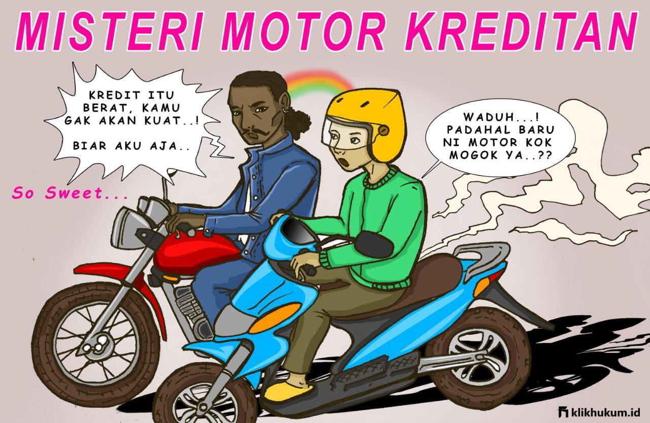 MISTERI MOTOR KREDITAN