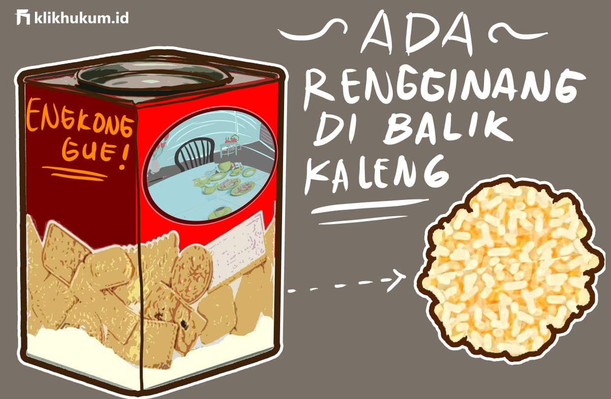 ADA RENGGINANG DI BALIK KALENG BISKUIT