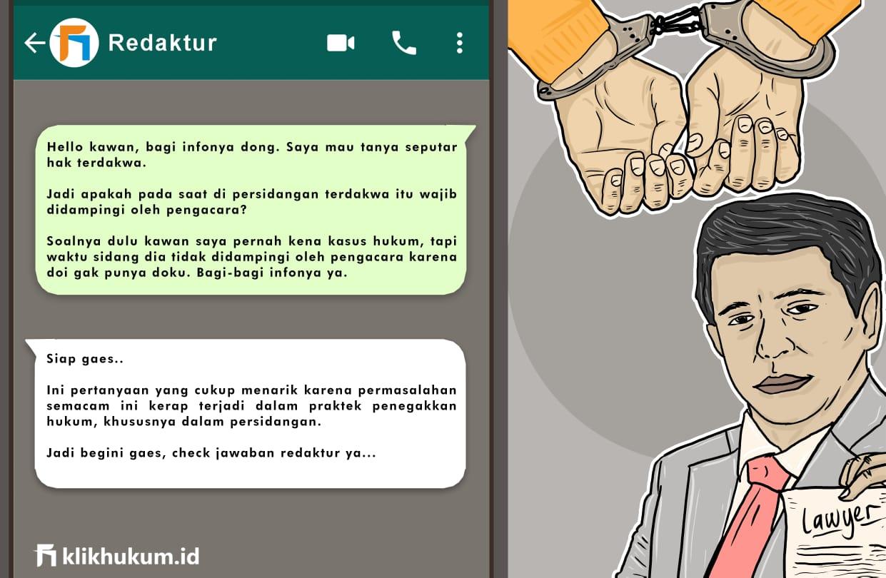 CURKUM#12 BANTUAN HUKUM UNTUK TERDAKWA
