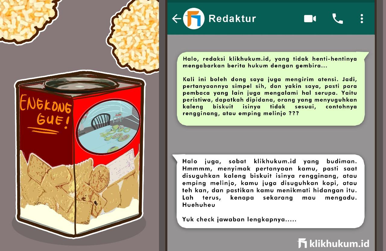 CURKUM #25 MODUS DI BALIK KALENG BISKUIT
