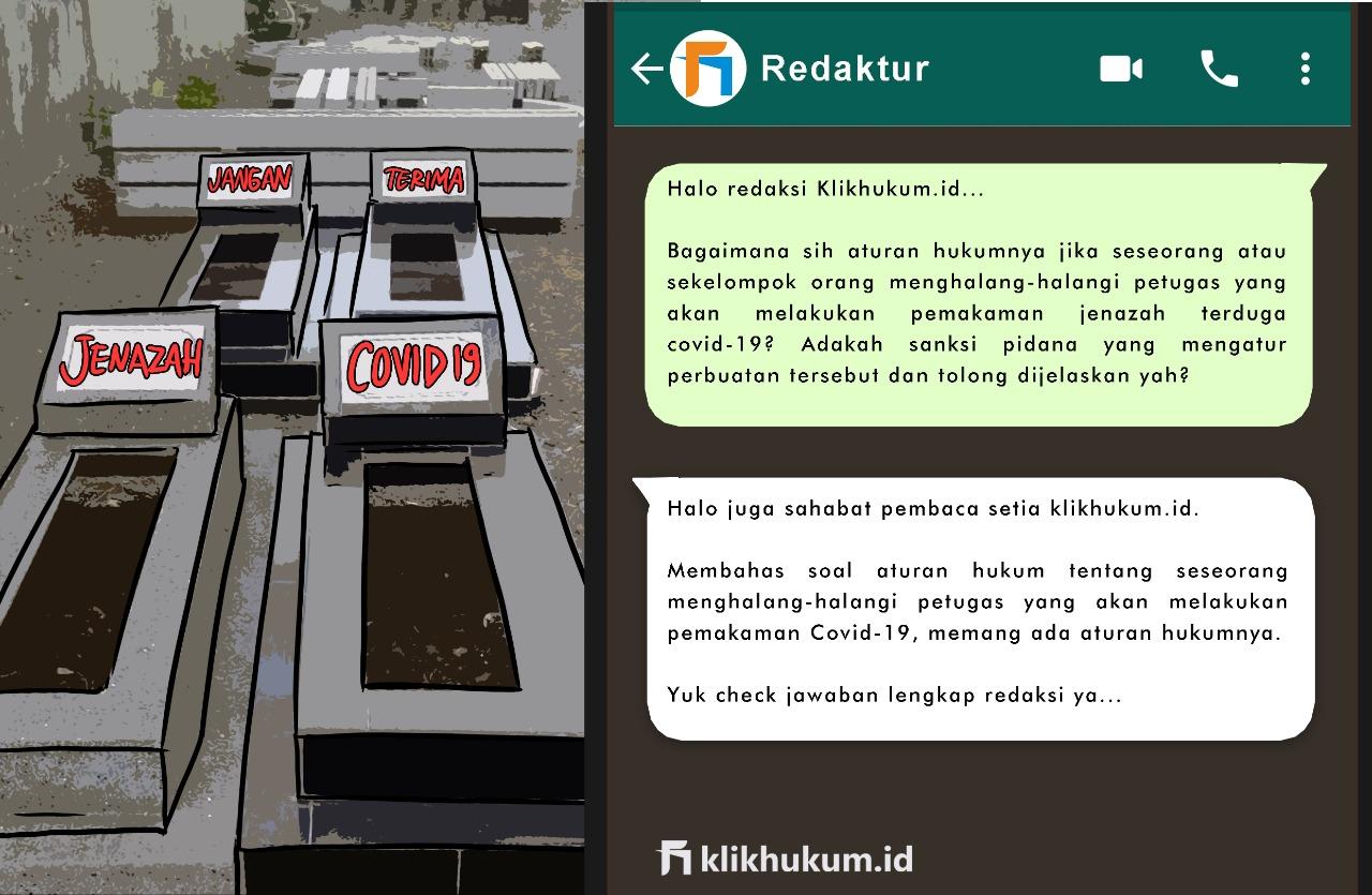 CURKUM #50 AKIBAT HUKUM MENGHALANG-HALANGI PETUGAS PEMAKAMAN COVID-19
