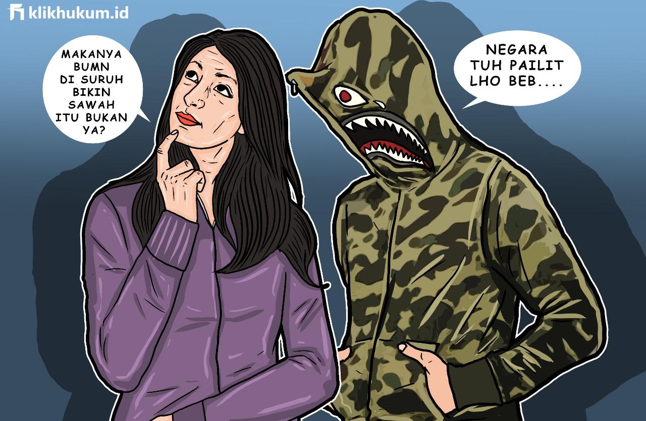 NEGARA INDONESIA PAILIT,  APAKAH BISA?