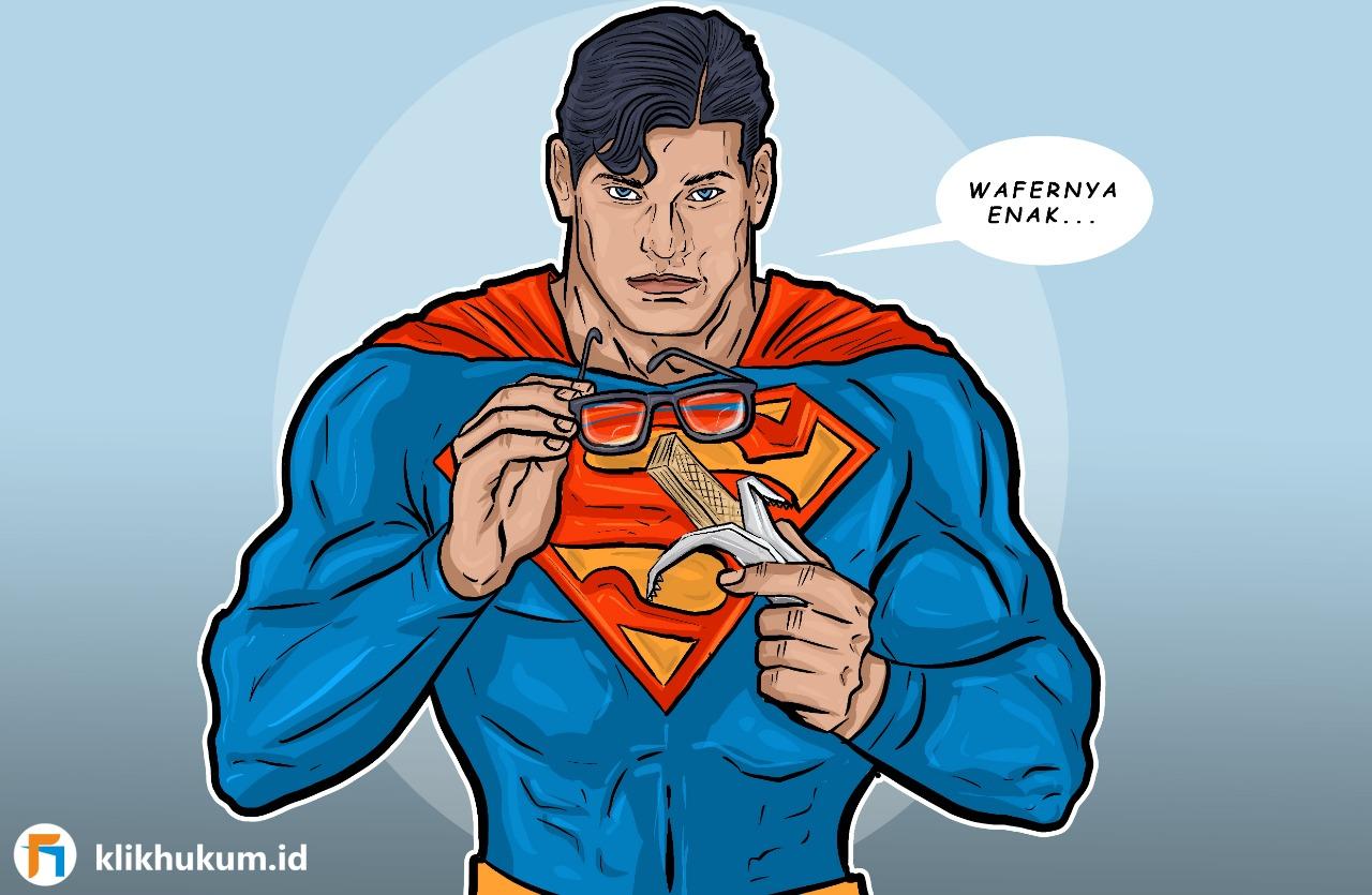 SENGKETA MERK SUPERMAN, DARI PAHLAWAN HINGGA WAFER