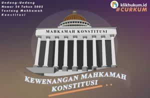 MENGENAL DASAR HUKUM MAHKAMAH KONSTITUSI