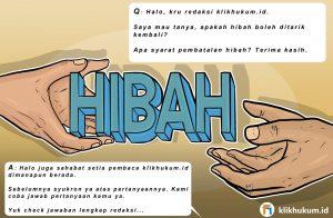CURKUM #109 HUKUM MENARIK KEMBALI HADIAH PEMBERIAN