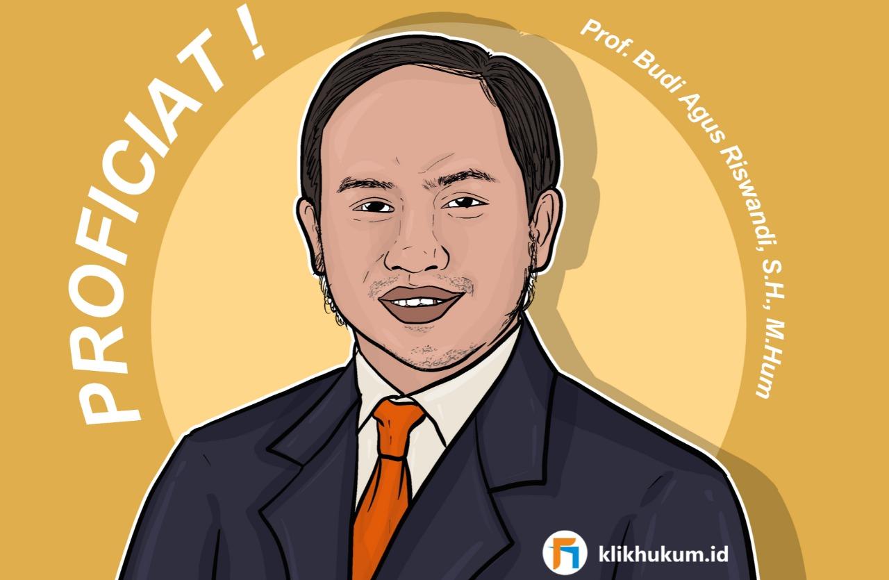 PROF BUDI AGUS RISWANDI, PROFESOR MUDA HKI