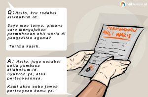 CURKUM #130 MENGAJUKAN PERMOHONAN AHLI WARIS